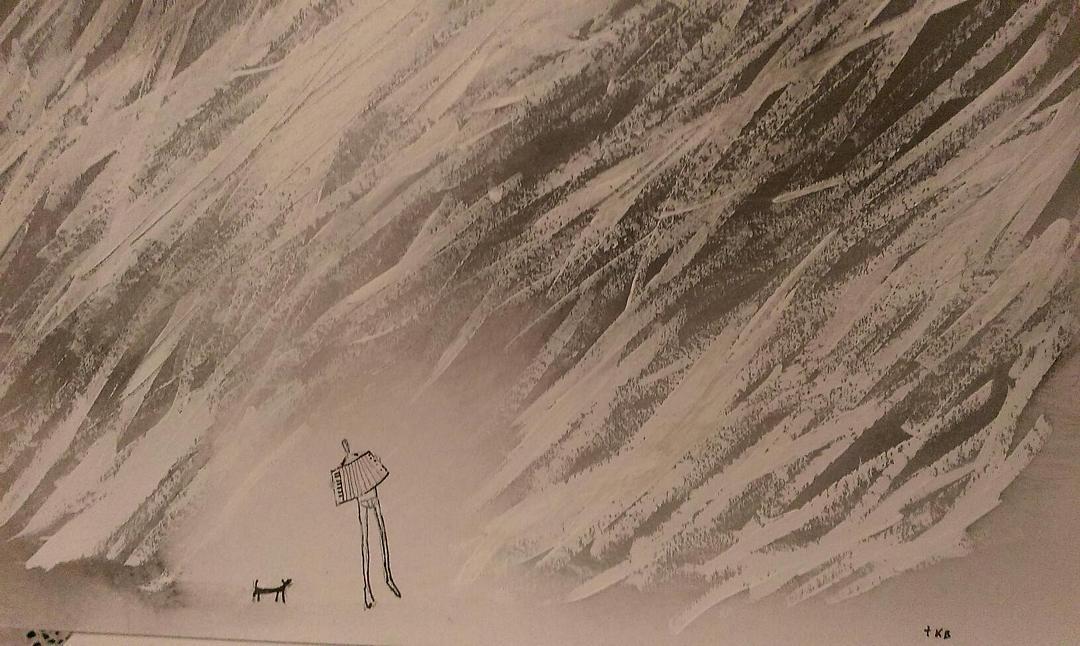 Art painting Tisja Kljakovic